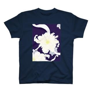 夜に咲く花 T-shirts