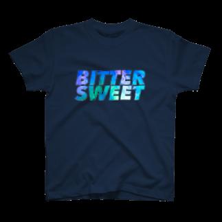 キー・チャンのBSブルーグラデ T-shirts