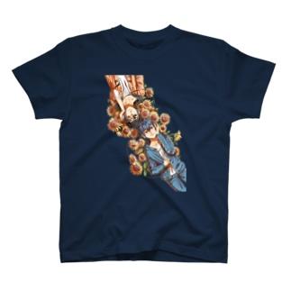 黒矢と杉さん|地色無 T-shirts