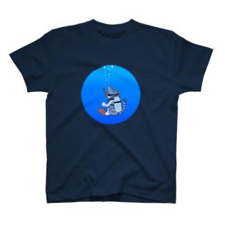 ダイビングねこ T-shirts