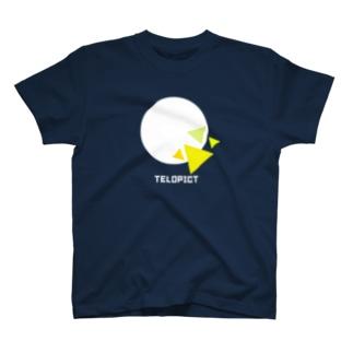 TELOPICT オリジナルロゴTシャツ 【Dark & Light】 T-shirts