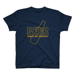 BEER takes my control. T-shirts