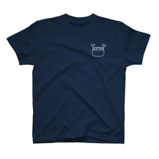 ポケンバン白 T-shirts