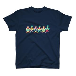 グリンピース行進曲 T-shirts