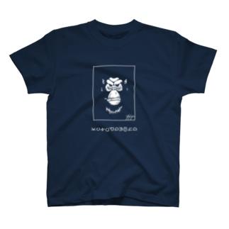 zatsuon-zakka.βのGORILLA FACE T-shirts