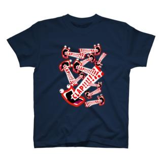 CLAP!!!!Tシャツ T-shirts