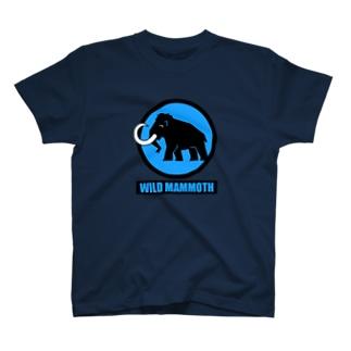 WM Tシャツ 紺×青 T-shirts