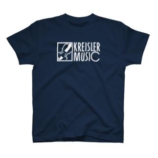 バイオリン/Kreisler Music白 T-shirts
