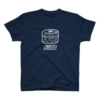 FUGO(白線) T-shirts