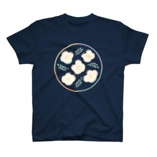 お花 丸 T-shirts