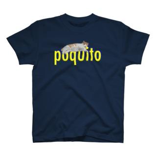 チョットだけねこ_Un Poquito T-shirts