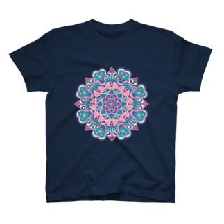 ボーホー柄A T-shirts
