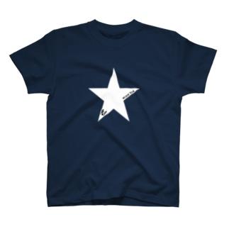☆ボステリ顔マーク T-shirts