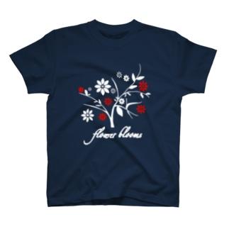 花咲く T-shirts