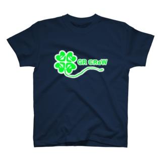 CloveeeeRオリジナル GRCReW Tシャツ T-shirts