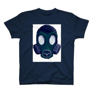 ガスマスクっぽい T-shirts