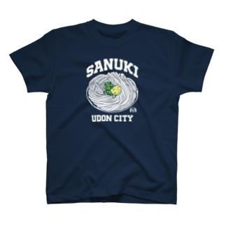 SANUKI UDON CITY ぶっかけうどん T-shirts