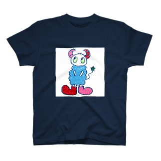 a:kumoシリーズ_スクエア T-shirts