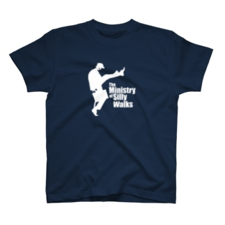 The Ministry of Silly Walks(バカ歩き省) T-shirts