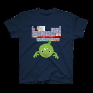 GECKO-SO-SINGのニホニウムくん T-shirts