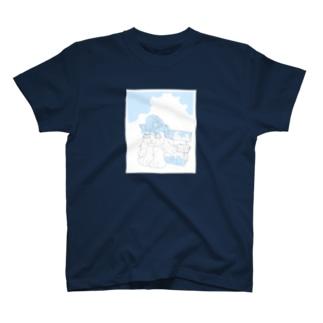 ねこのひとやすみ T-shirts