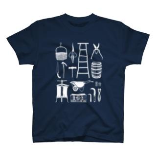 仁木町協力隊(ホワイト) T-shirts