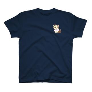 編み物うっとりネコ T-Shirt