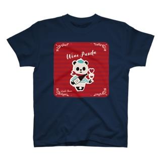 ワインパンダ T-shirts