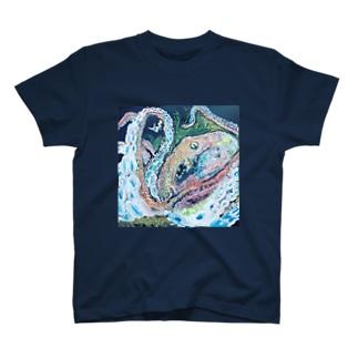 人魚とたこくん T-shirts