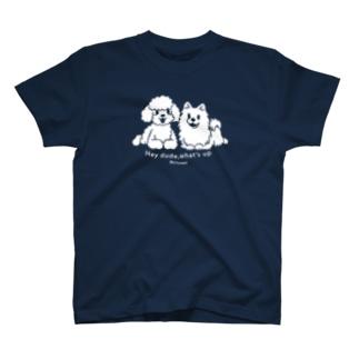 *suzuriDeMONYAAT*のCT170 Toypoo &Pome*B T-Shirt