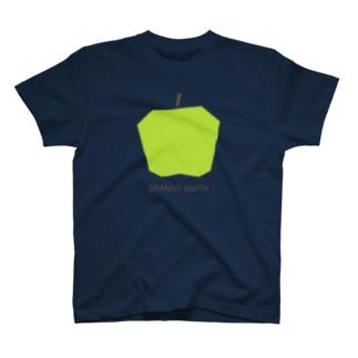 KAWAGOE GRAPHICSのグラニースミスりんご T-Shirt