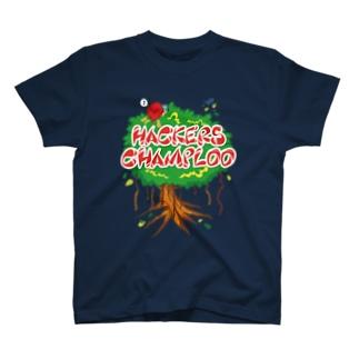 ハッカーズチャンプルー ガジュマル T-shirts