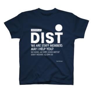 DISTスタッフTシャツ(SHIZOOO ver.) T-shirts