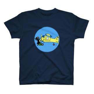 猫パイロット T-shirts