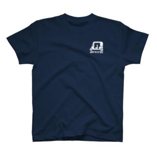 APイラスト+カタカナ(白) T-Shirt