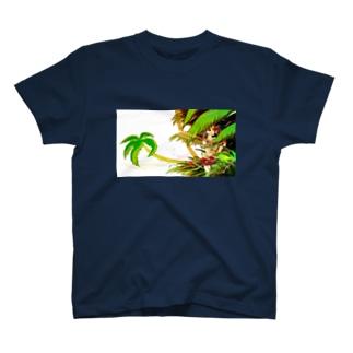 グリーンのハット T-shirts