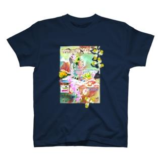 336★月山いつこ作品●羽和2■夏海野★Hime15  T-shirts