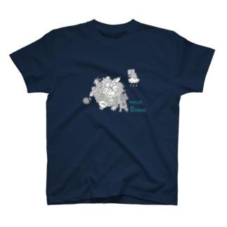 塊ingress kansai T-shirts