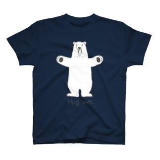 シロクマさん、ハグを求める。 T-shirts