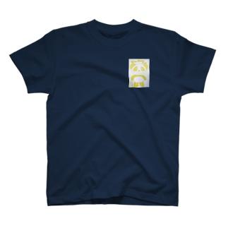 イエローパンダ スマイルのイエローパンダスマイル♡ T-shirts