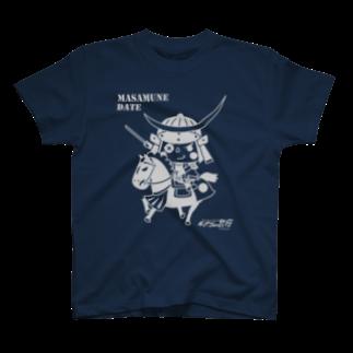 チョイコレshopのチョイコレ武将(伊達政宗) T-shirts