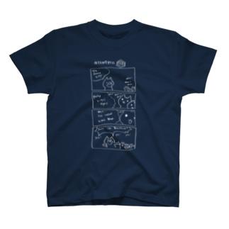 なぐらのNyangress kitty T-shirts