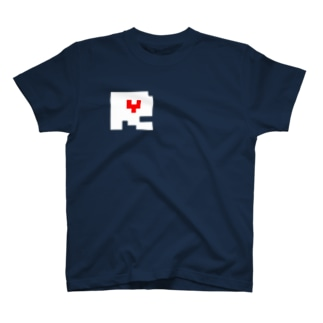 8bit R of HEART T-shirts