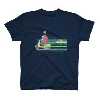 ストライプ T-shirts