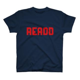 ReaDD ロゴ赤 T-shirts
