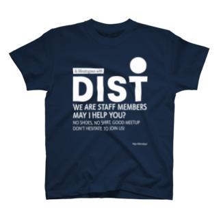 DISTスタッフTシャツ(湊川 ver.) T-shirts