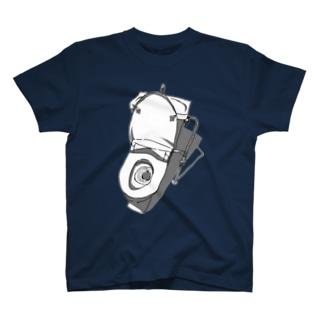 色つき便器 T-shirts