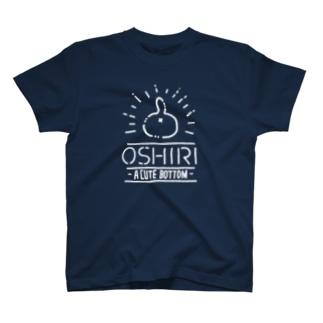 NEKO NO OSHIRI ホワイトライン T-shirts