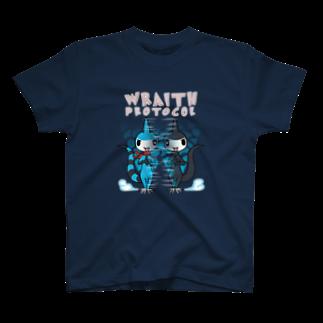 仮想通貨Verge Japan(バージ ジャパン) 公認SHOPのバージリスク(レイス・プロトコル) T-shirts