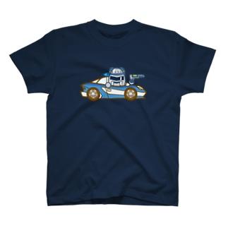 ジャンバラヤくんの高速パトカー T-shirts